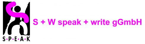 S+W speak + write Marburg